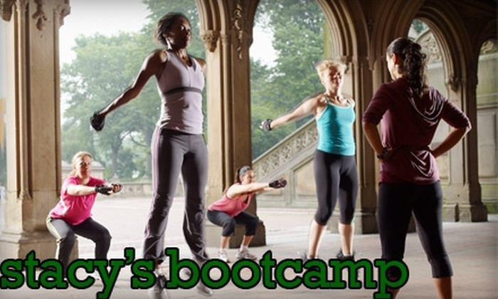 Stacy's Bootcamp - Central Park: $60 for Six Boot-Camp Classes in Two Weeks at Stacy's Bootcamp ($210 Value)