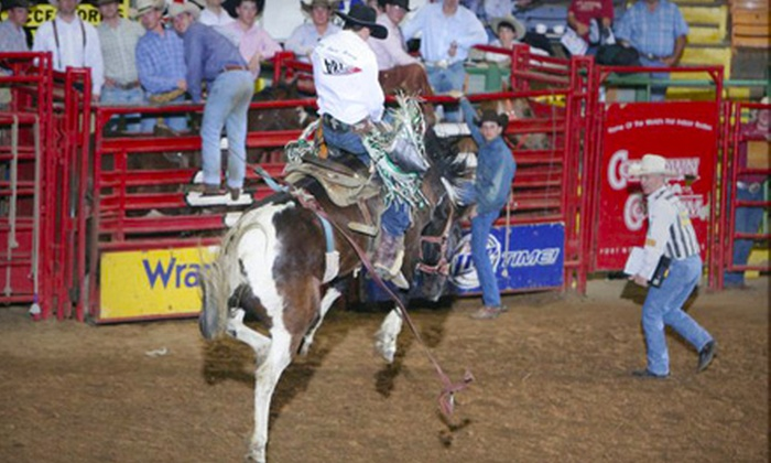 Stockyards Championship Rodeo - Fort Worth: Rodeo Outing for Two or Four to Stockyards Championship Rodeo in Fort Worth (Up to Half Off). Four Options Available.
