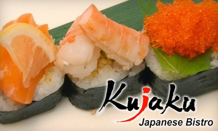 Kujaku Japanese Restaurant - Fairfield County: $20 for $40 Worth of Sushi, Hibachi-Grilled Fare, and Drinks at Kujaku Japanese Restaurant