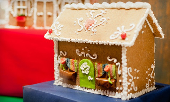 Gingerbread Builders - Multiple Locations: Small, Medium, or Large Gingerbread House Materials and Building Session at Gingerbread Builders (Up to 56% Off)