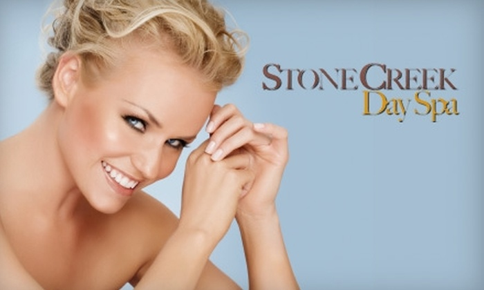 Stone Creek Day Spa - Broken Arrow: $69 for Body-Slimming Treatment ($150 Value) or $59 for a Nonsurgical Face-Lift ($125 Value) at Stone Creek Day Spa in Broken Arrow