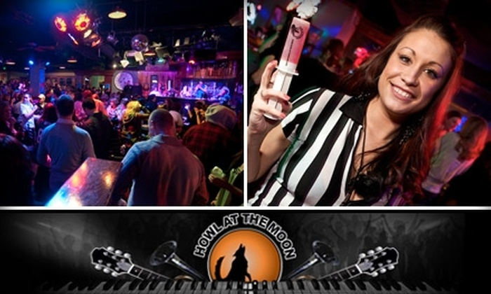 Howl at the Moon - Charlotte: $25 for $50 Worth of Drinks and Merchandise with Included Cover Charge at Howl at the Moon (Up to $58 Value)