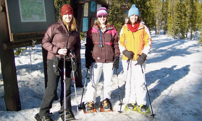 First Ascent Mountain School - Ivywild: Half-Day Guided Snowshoe Tour Through the Pikes Peak Region for One, Two, or Five from First Ascent Mountain School (Up to 54% Off)
