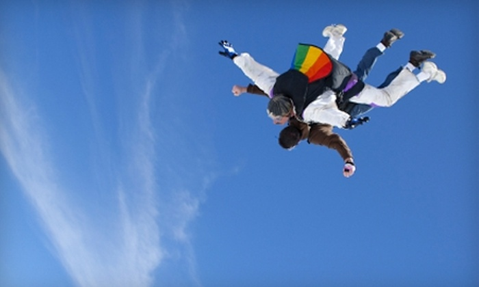 Midwest Freefall Sport Parachute Club - Ray: $137 for One Tandem Skydive from Midwest Freefall Sport Parachute Club ($239 value)