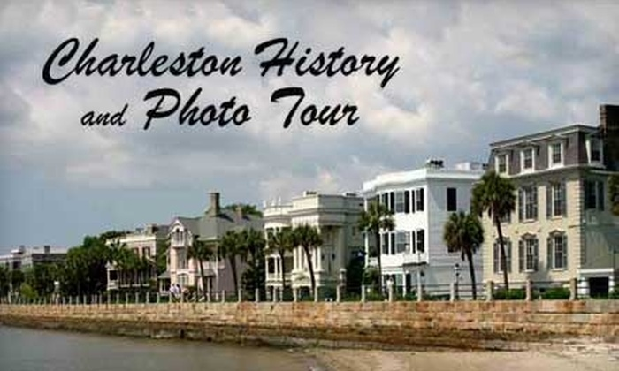 Charleston History and Photo Tour - French Quarter: $20 for Two Tickets to a Charleston History and Photo Tour ($45 Value)