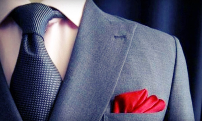 Fiore's Clothing - Dupont Circle: Custom-Tailored Dress Shirt and Necktie at Fiore's Clothing (Up to 65% Off). Two Options Available.