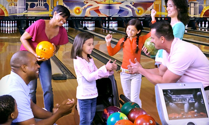 AMF Bowling Centers - Leisureville: Two Hours of Bowling and Shoe Rental for Two or Four at AMF Bowling Centers (Up to 57% Off). 271 Locations Nationwide.