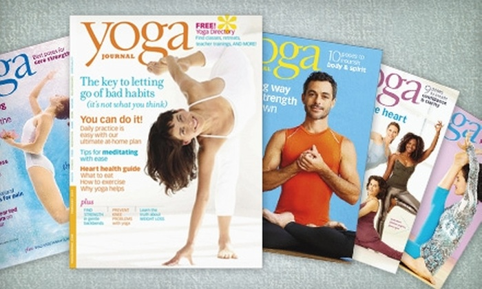 """""""Yoga Journal"""" Magazine: $10 for a One-Year Subscription to """"Yoga Journal"""" Magazine (Up to $21.95 Value)"""