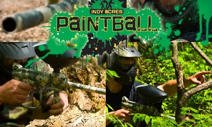 Indy Acres Paintball - Raymond Park: $15 for All-Day Paintball Play, Gear, and 300 Paintballs at Indy Acres Paintball ($35 Value)