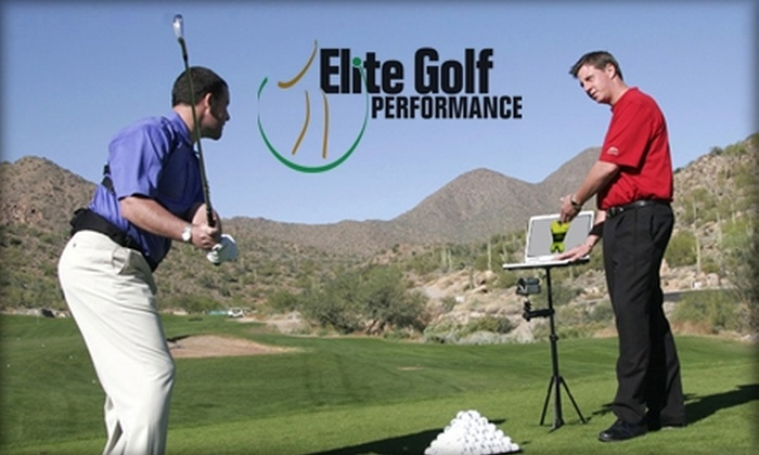 Elite Golf Performance - Travis Landing: $49 for a One-Hour Private Golf Lesson, Plus Half Off 18 Holes, through Elite Golf Performance at Falconhead Golf Club