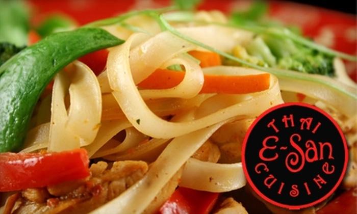 E-San Thai Cuisine - Old Town - Chinatown: $10 for $20 Worth of Thai Dinner Fare and Drinks at E-San Thai Cuisine
