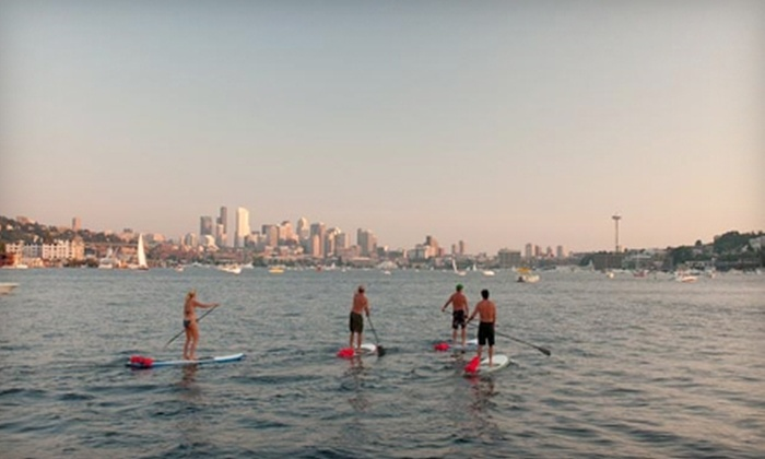 Northwest Paddle Surfers - Multiple Locations: $20 for a Two-Hour Stand-Up Paddleboard Rental and Instruction at Northwest Paddle Surfers ($40 Value).