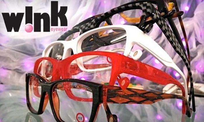 Wink Eyewear - Lawrence: $25 for $125 Toward Pair of Prescription Glasses at Wink Eyewear