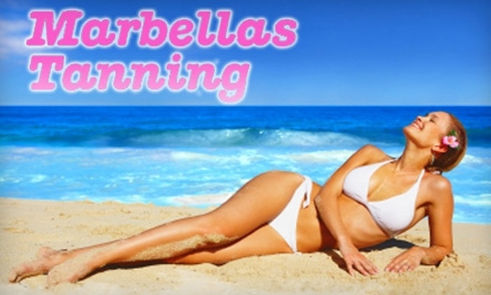 Marbella's Tanning - McAllen: $30 for Two Airbrush Tans at Marbella's Tanning ($90 Value)