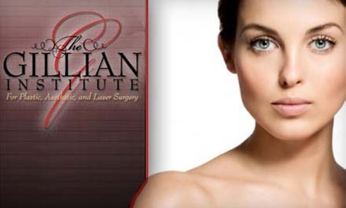 Gillian Institute for plastic surgery - Indianapolis: $199 for a SkinTyte Facial at the Gillian Institute for Plastic, Aesthetic, and Laser Surgery ($500 Value)