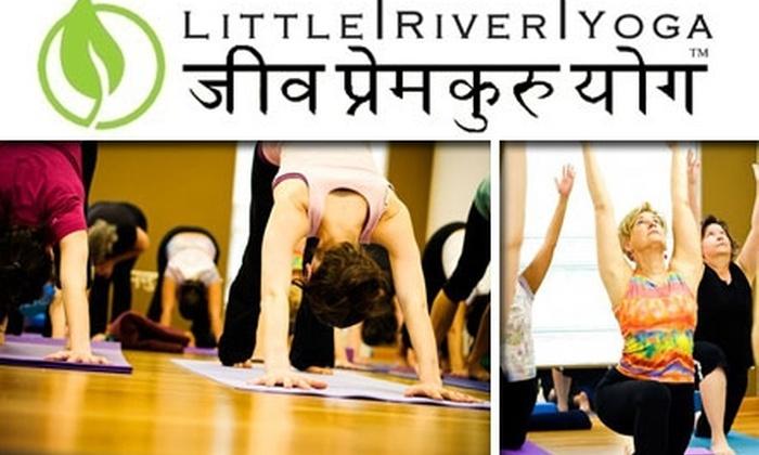 Little River Yoga - Lincolnia: $45 for Eight Yoga Classes at Little River Yoga ($108 Value)
