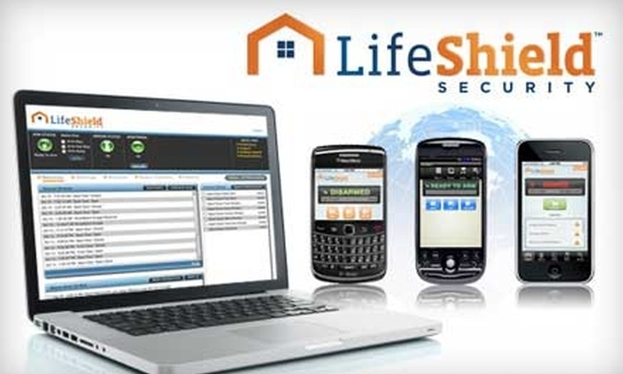 LifeShield: $67 for a Home Security System and Two Months of Monitoring Service from LifeShield ($259.97 Value)