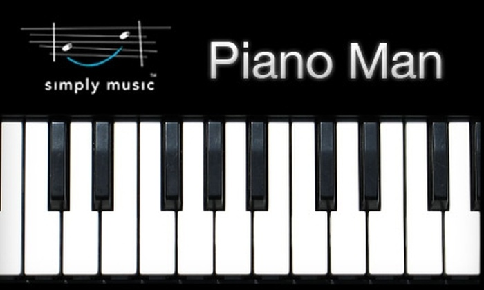 Piano Man - Arden - Arcade: $39 for Four Group Piano Lessons with the Piano Man ($145 Value)