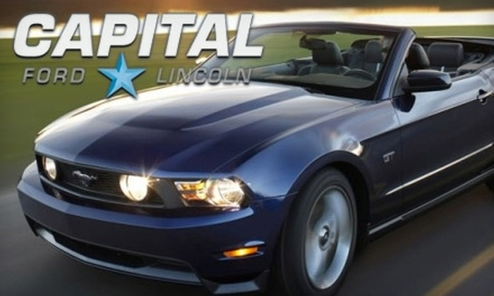 Capital Ford - Walsh Acres - Lakeridge: $42 for Winter Auto Preparation Package at Capital Ford Lincoln ($84.99 Value)