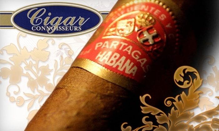 Cigar Connoisseurs - Downtown Vancouver: $20 for $40 Worth of Cigars, Accessories, and a Cigar Tutorial at Cigar Connoisseurs