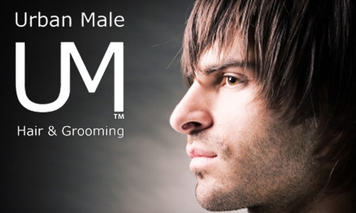 Urban Male Salon - Elmwood Area: $22 for a Haircut, Style, and More or $25 for a 60-Minute Swedish Massage at Urban Male Salon