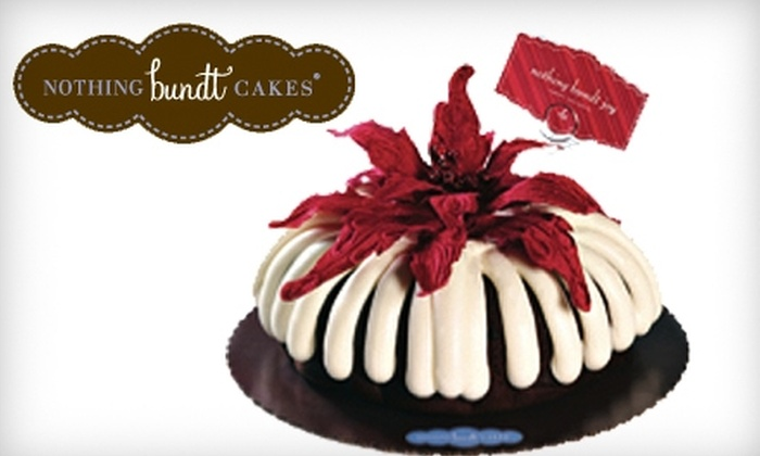 Nothing Bundt Cakes - Temecula: $10 for $20 Worth of Baked Goods at Nothing Bundt Cakes in Temecula