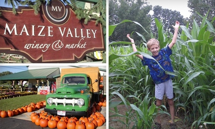 Maize Valley Market and Winery - Marlboro: $12 for Two Admissions to Carnage in the Corn at Maize Valley Market and Winery in Hartville ($24 Value)