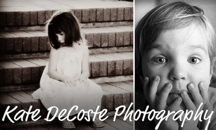 Kate DeCoste Photography - Lincoln: $49 for up to a 90-Minute On-Site Photography Session from Kate DeCoste Photography ($150 Value)