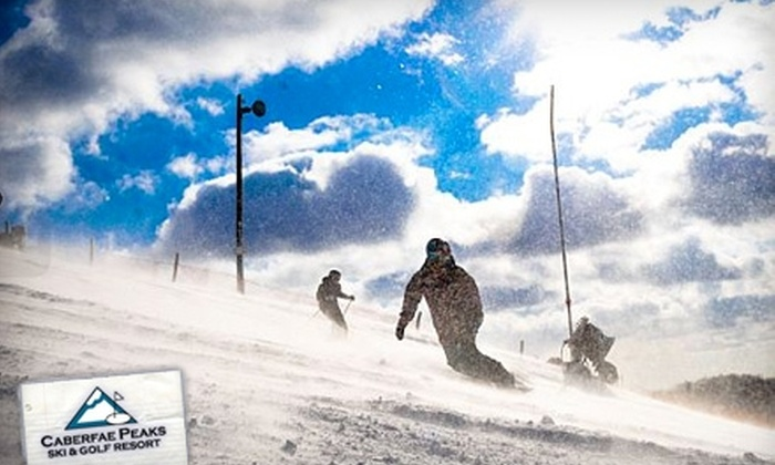 Caberfae Peaks Ski & Golf Resort - South Branch: $19 for a Lift Ticket at Caberfae Peaks Ski & Golf Resort in Cadillac