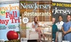 """New Jersey Monthly"" - Middlesex: $9 for a One-Year Subscription to ""New Jersey Monthly"" Magazine ($19.95 Value)"