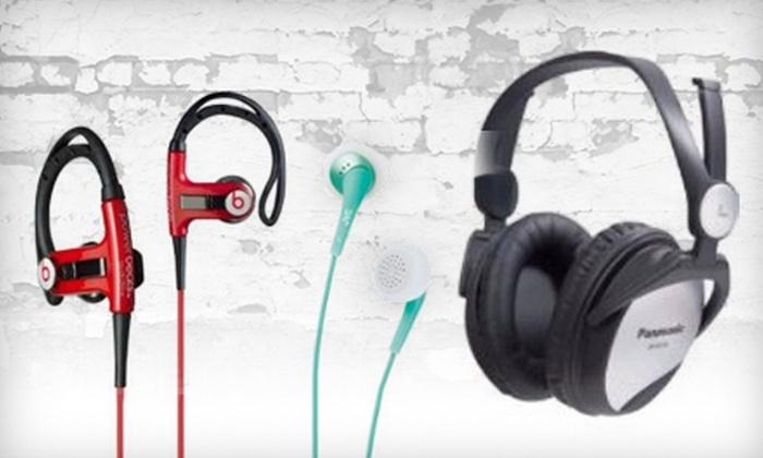 Capital Audio - Tribeca: $20 for $45 Worth of Headphones at Capital Audio