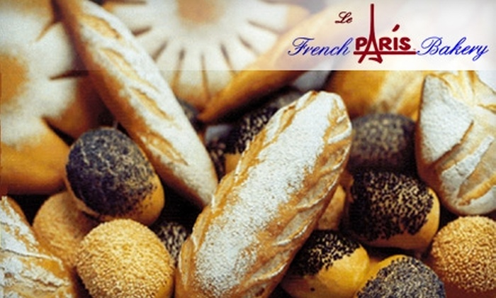 Le Paris French Bakery - Indian Moon: $5 for $10 Worth of Fresh Baked Fare at Le Paris French Bakery