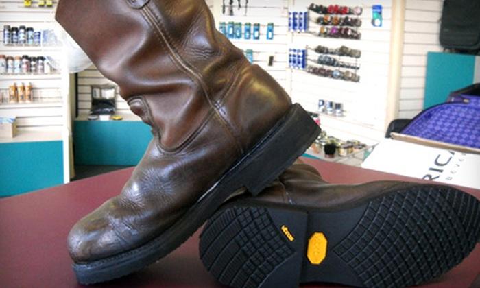 Cobbler Store Shoe Repair - West Arlington: $12 for $25 Worth Of Repair Services at Cobbler Store Shoe Repair in Arlington