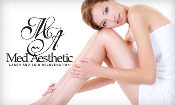 Med Aesthetic - Gallatin: $99 for Three Laser Hair Removal Treatments at Med Aesthetic in Gallatin (Up To A $750 Value)