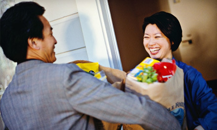GoGet! Grocery Delivery: $25 for $50 Worth of Groceries from GoGet! Grocery Delivery