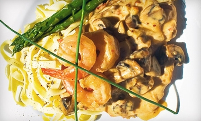 Villa Rosa Ristorante Italiano - Penticton: $25 for $50 Worth of Italian Fare at Villa Rosa Ristorante Italiano