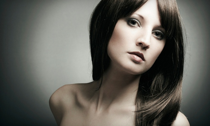 Paragon your Salon - Midtown: Haircut and Style with Option of a Conditioning Treatment, Color, or Partial Foil at Paragon your Salon (Up to 78% Off)