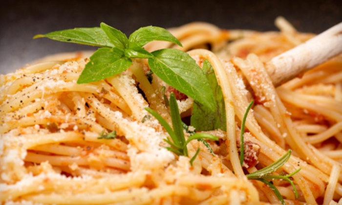 The Red Pepper - Summerville: $10 for $20 Worth of Italian Cuisine at The Red Pepper in Summerville