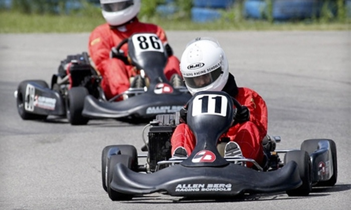 Allen Berg Racing Schools - Southeast Calgary: $50 for a Race-Kart Experience at Allen Berg Racing Schools ($110.25 Value)