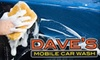 Dave's Mobile Car Wash: $12 for The Works Wash ($25 Value) or $62 for a Full Detail Wash ($125 Value) from Dave's Mobile Car Wash