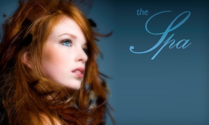 The Spa Tulsa - Tulsa: $23 for a Shampoo, Cut and Style, and Eyebrow Consultation and Waxing at The Spa (Up to $45 Value)