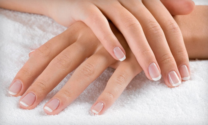 Haas & Company - Mid-Wilshire: Manicure, Gel Manicure, or Mani-Pedi at Haas & Company (Up to 55% Off)