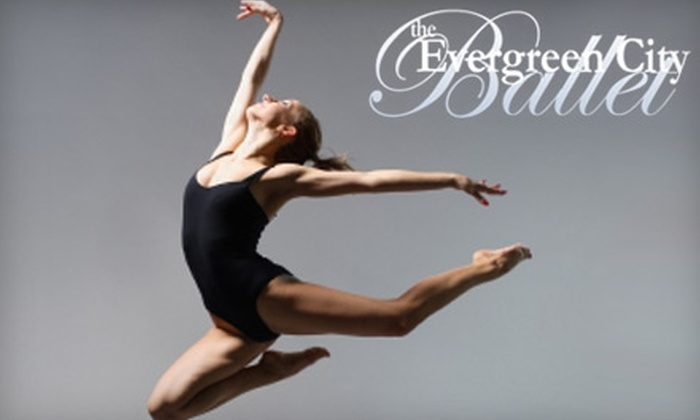 Evergreen City Ballet - Renton: Up to 54% Off Dance Classes at Evergreen City Ballet. Three Class Options Available.