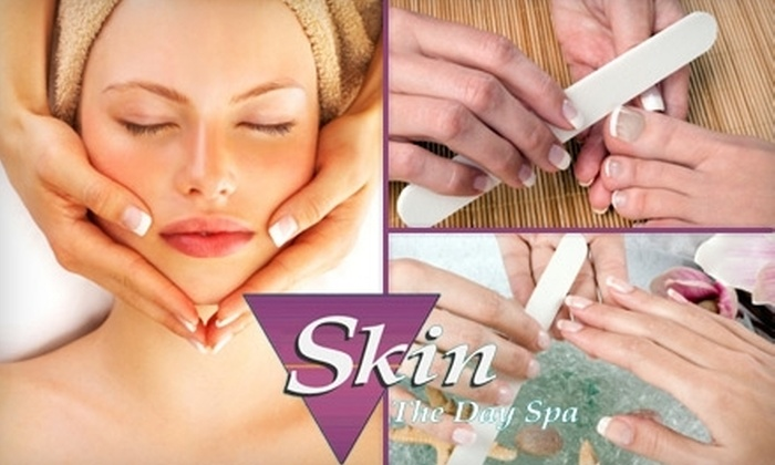 Skin the Day Spa - Oak Park / Northwood: $49 Manicure, Pedicure, and Facial at Skin the Day Spa