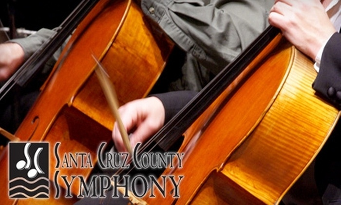 Santa Cruz County Symphony - Santa Cruz / Monterey: $32 for Orchestra or Dress-Circle Ticket to the Santa Cruz County Symphony Performance on January 29 ($65 Value)