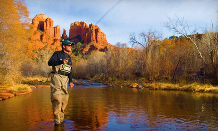 The Hook Up Outfitters and Guide Service, Inc. - Peoria: Fishing Trip or Fly-Fishing Classes from The Hook Up Outfitters and Guide Service, Inc. in Peoria. Three Options Available.