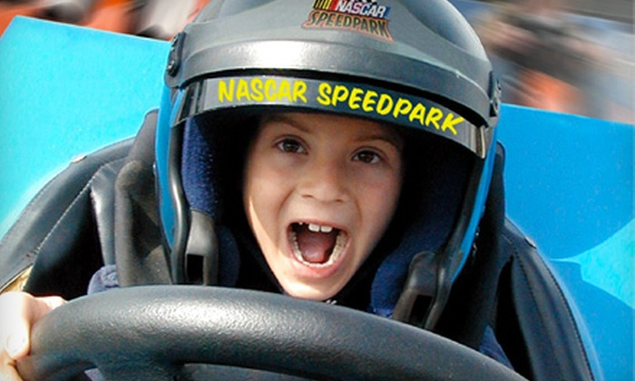 NASCAR SpeedPark - Vaughan: 20-Ticket Attraction Package or Unlimited Ride Access at NASCAR SpeedPark in Vaughan