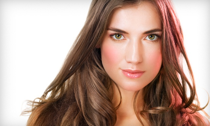 Suddenly Beautiful - Sand Lake: $49 for Shampoo, Moroccanoil Deep-Conditioning Treatment, Haircut, and Style at Suddenly Beautiful (Up to $120 Value)