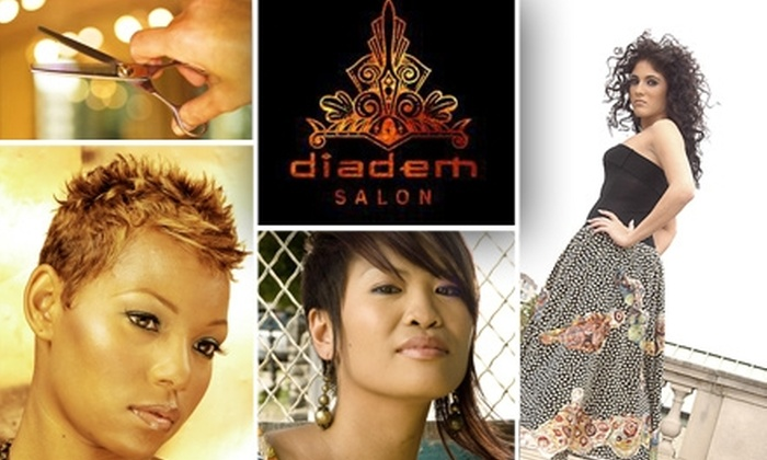 Diadem - Germantown: $25 for $50 Worth of Styling and More at Diadem Salon
