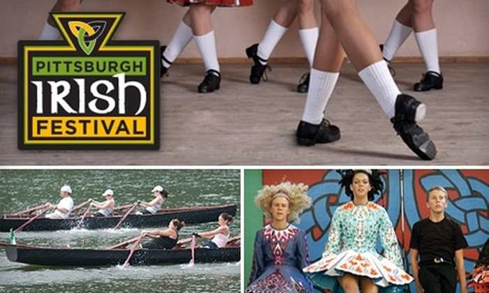 Pittsburgh Irish Festival - West Homestead: $12 for Two Adult Tickets to One Day of The Pittsburgh Irish Festival, September 10–12 ($20 Value)